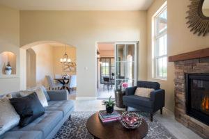 Living room photo of Pisa floor plan