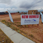 New Homes sign