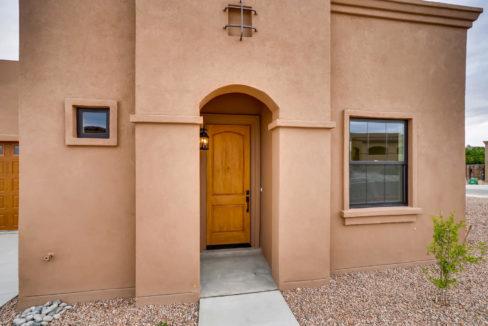 3166 Viale Cetona Santa Fe NM-large-003-020-Exterior Front Entry-1499x1000-72dpi