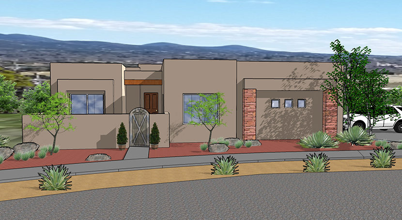 Arbolitos homes rendering Lot 7
