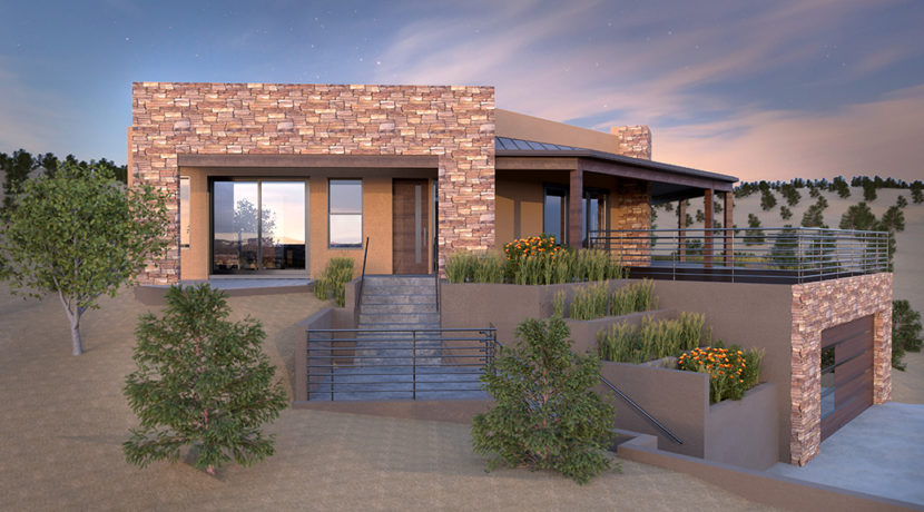 Renderings lot 4 Arbolitos