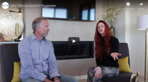 Realtors, Elle and Peter discuss Santa Fe Properties