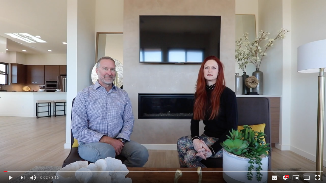 Realtors, Elle and Peter discuss Santa Fe Properties