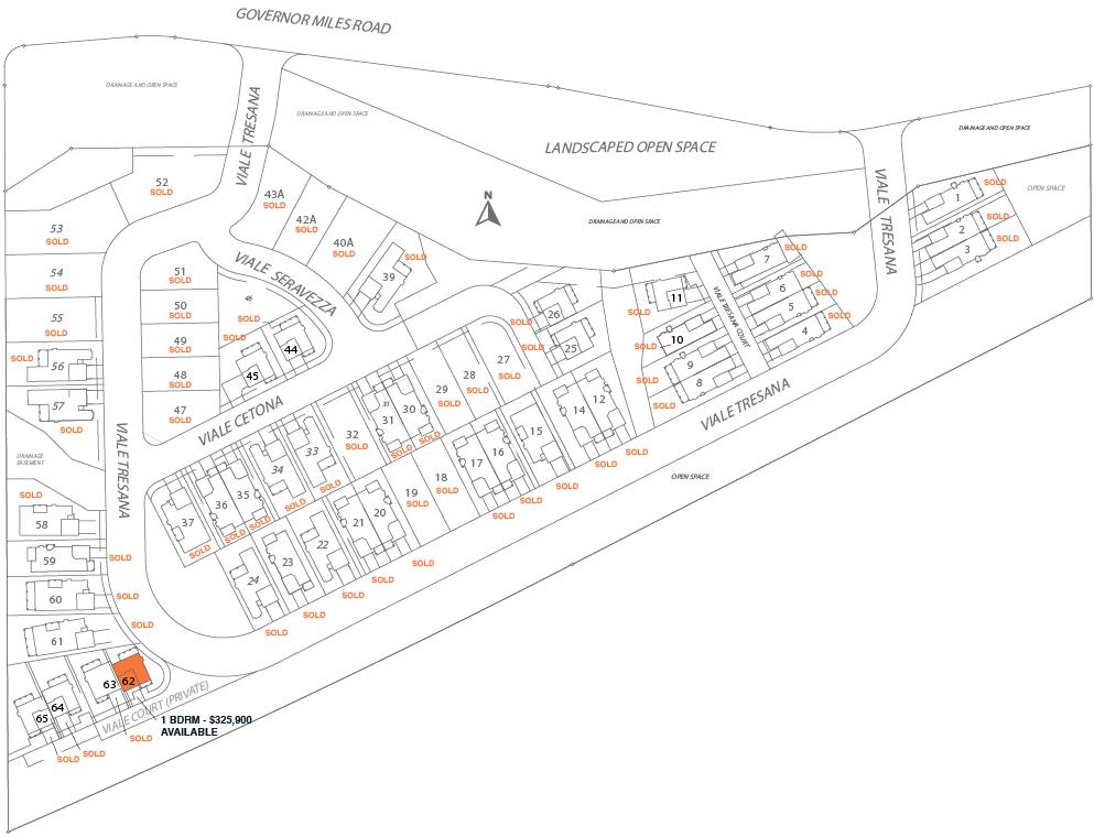 Villas di Toscana site map