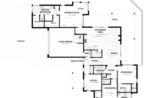 New home construction 3 bedrooms 2.5 baths