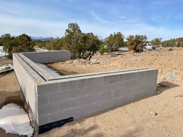 Val Lot 10 - Seat Wall and retaining wall #2