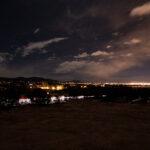 Night time views from Lot 1 Arbolitos