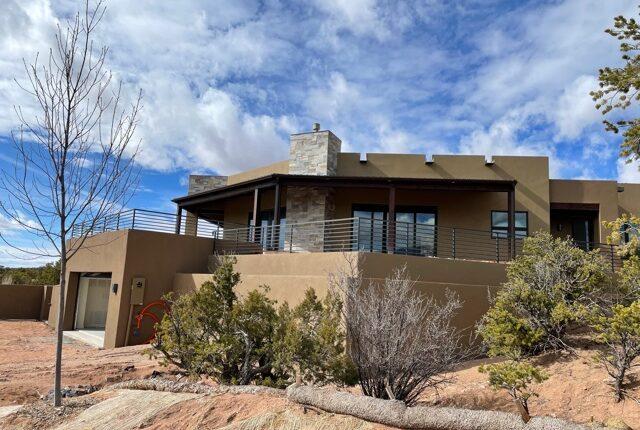 New home construction Santa Fe