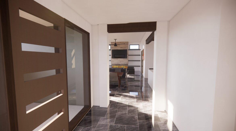 Arete-Homes-Valverde-Sunset-Side Foyer
