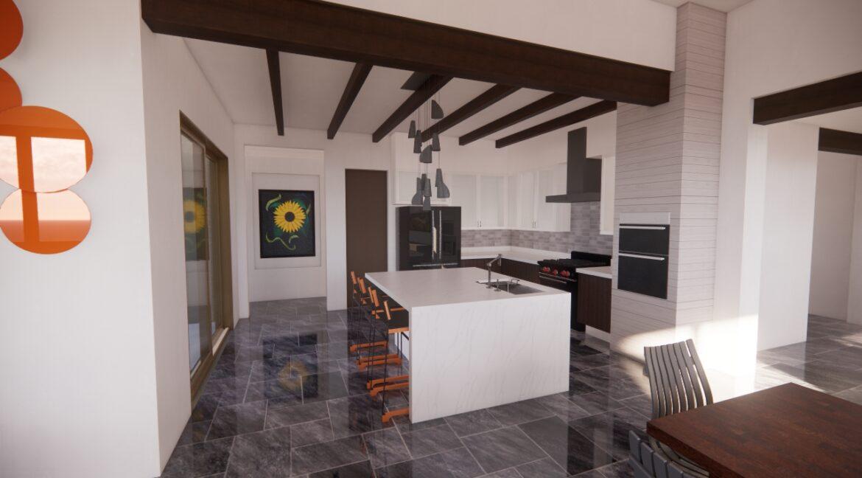 Arete-Homes-Valverde-Sunset-Side Kitchen