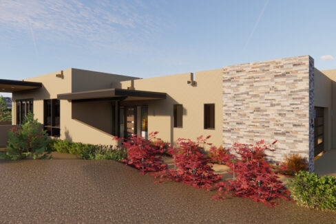 PRE-PROMO-1-Arete-Homes-Valverde-Sunset-Front-side-exterior