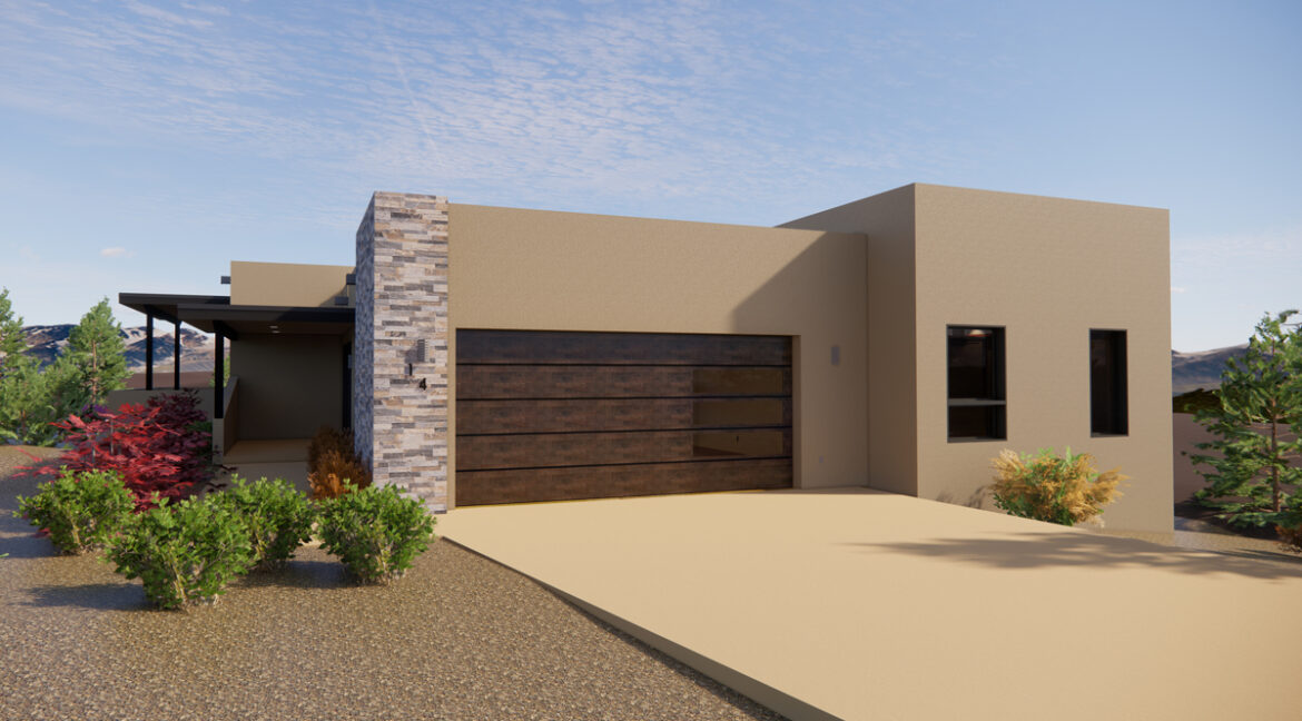 PRE-PROMO-2-Arete-Homes-Valverde-Sunset-Front-Exterior