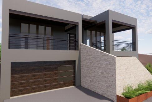 New home construction in las campanas, Santa Fe, NM