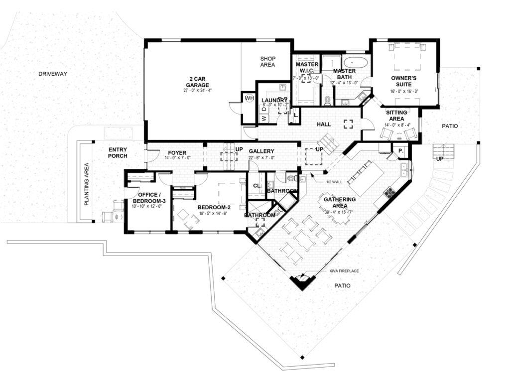 Lot 9 1786 Calle Arbolitos floor plan